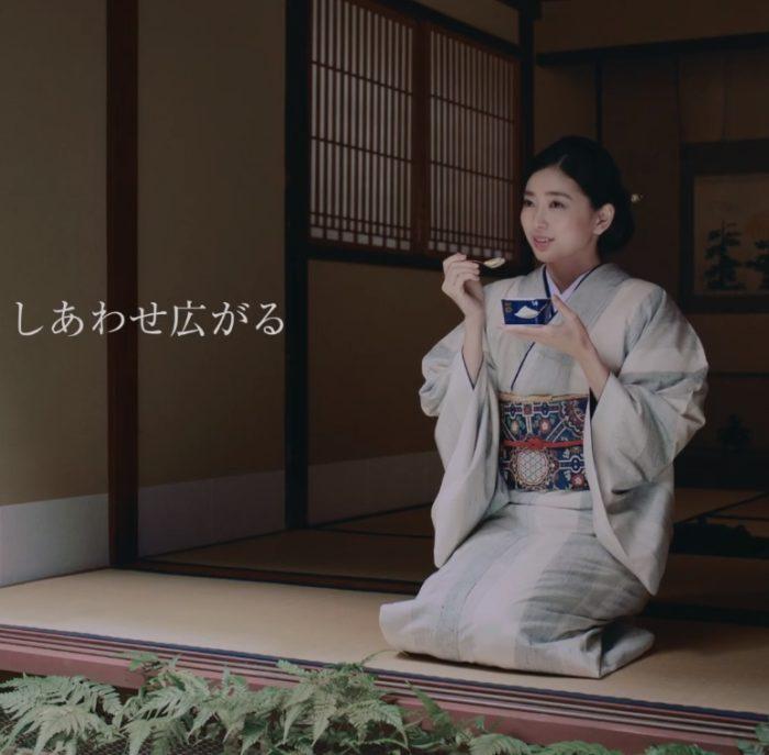 松永ちさと 感豆富 CM