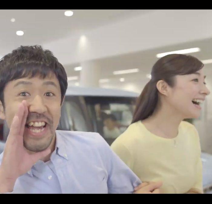 濱津隆之 森木美和 ホンダカーズ CM