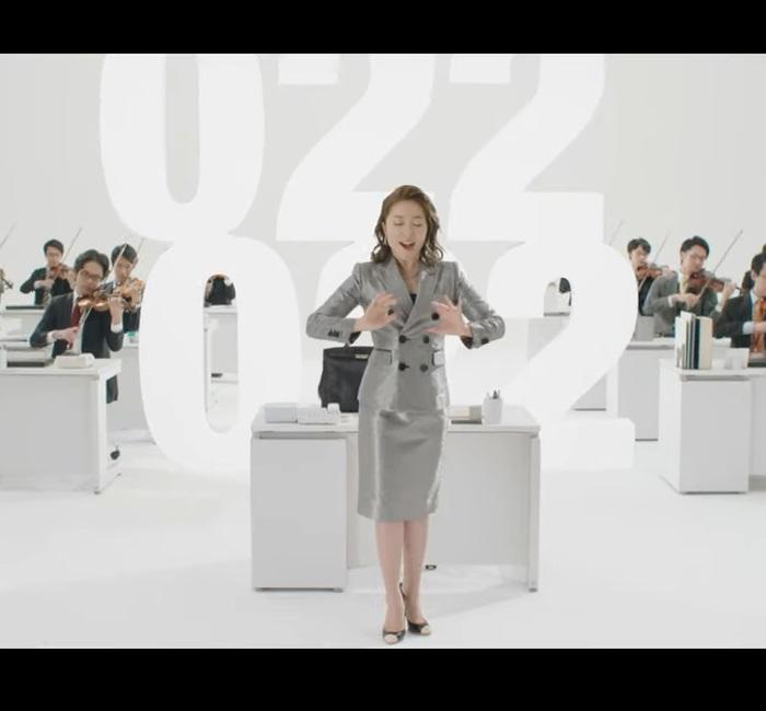 平原綾香 スタッフサービス CM