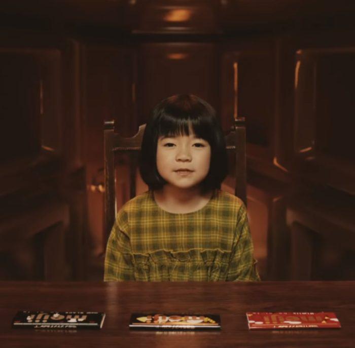 香月萌衣 ミルクチョコレート CM
