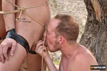 tied boys
