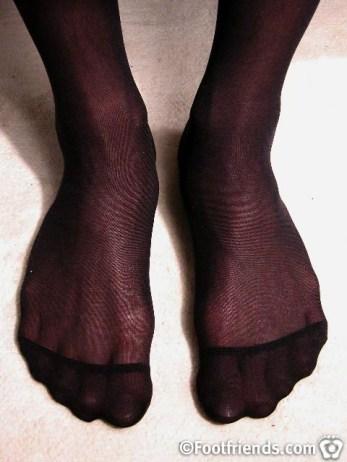 footfriends nylon feet