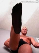 gay foot nylon