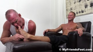 male foot fetish