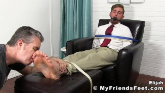 bound gay feet