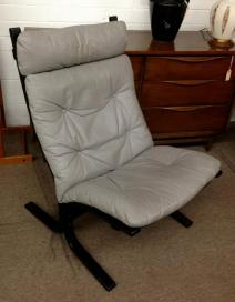 "WESTNOVA, ""Siesta"" high-back chair. $395"