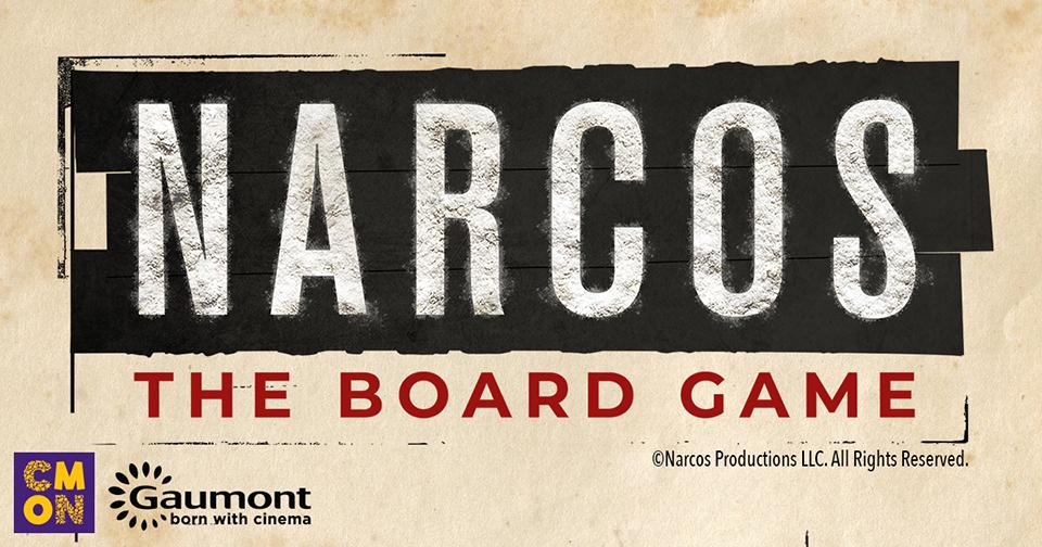 Narcos the board game juego de mesa
