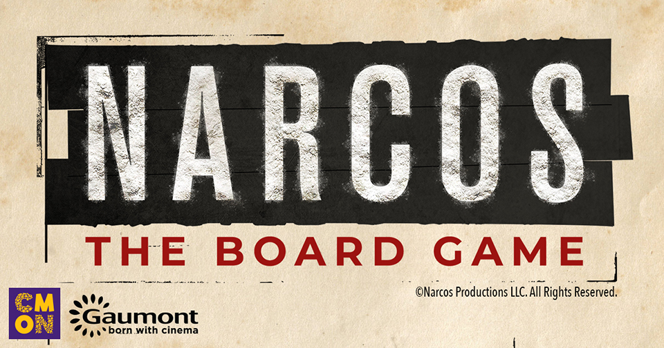 Narcos the board game juego de mesa