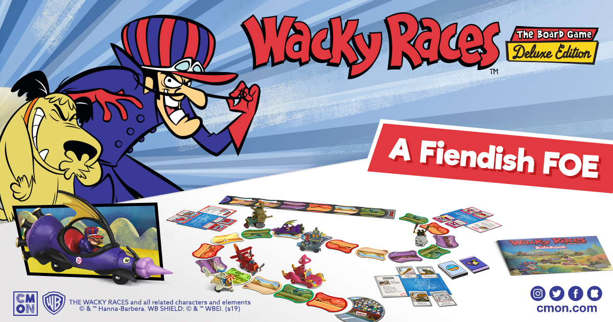 Wacky Races Board Game Deluxe Edition