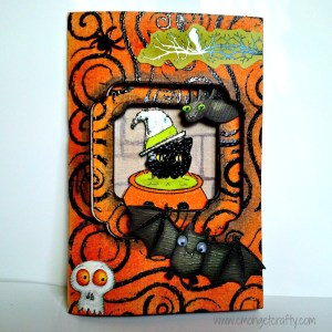 Get Crafty with Cards: Halloween Card