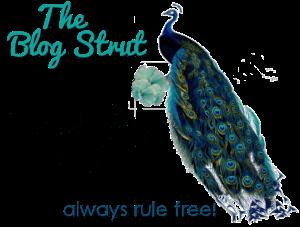 Blog Strut! Peacock Style
