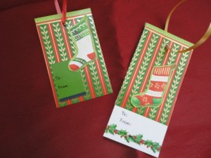 Gift Tags Close Up 1