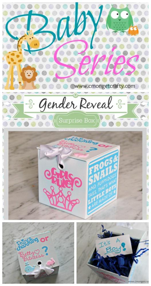 Surprise Gender Reveal Ideas For Husband : surprise, gender, reveal, ideas, husband, C'mon, Crafty, Series, Gender, Reveal