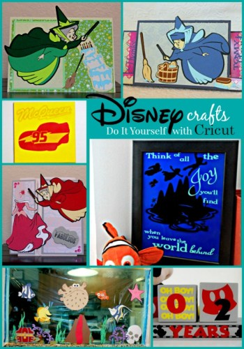 Disney has a great line of Cricut products, perfect for creating plenty of fun crafts!