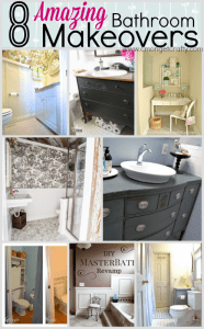8 Amazing Bathroom Makeovers