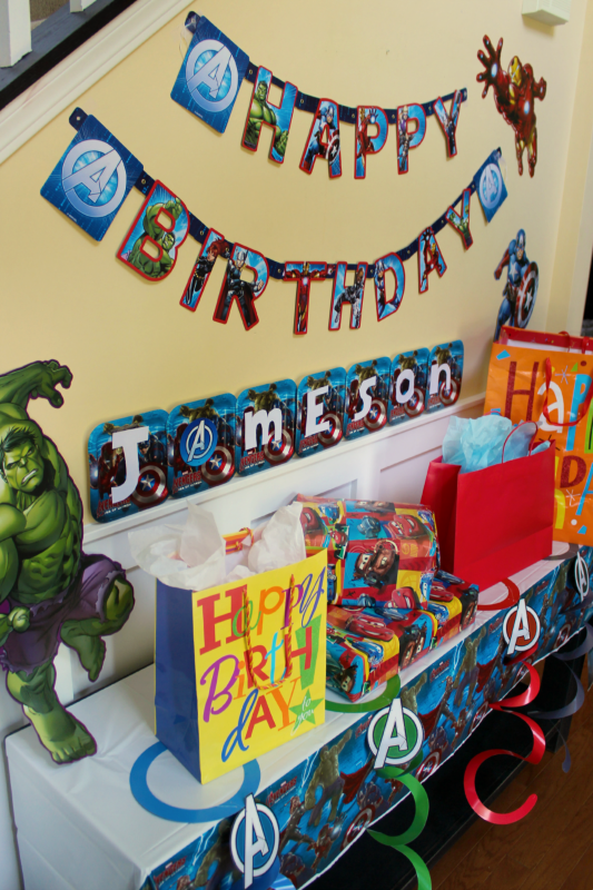 birthday display