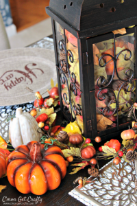Fall Decorating: Traditional with a Touch of Sparkle!
