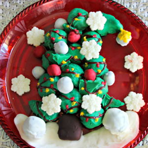 OREO Cookie Balls Grinch Tree