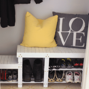 Closet Makeover: Cluttered Mess to Pretty Nook