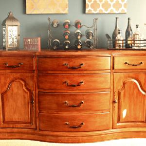 Updated Buffet Furniture Refresh