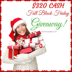 Black Friday $335 Giveaway!