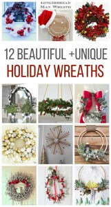 12 Ways to Make Christmas Wreaths