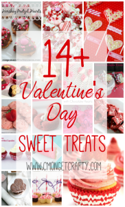 14+ Valentine's Day Sweet Treats {Merry Monday Link Party}