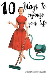 Organize Your Life {Merry Monday Link Party #140}