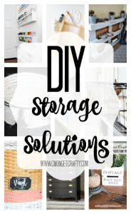 DIY Storage Solutions {Merry Monday Link Party #148}