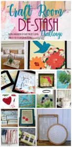 Destash Your Craft Room! {June Craft Destash Challenge}