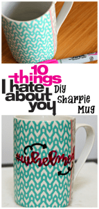 Movie Quote DIY Sharpie Mug {Movie Monday Challenge}
