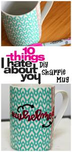 Movie Quote DIY Sharpie Mug {Movie Monday Challenge}