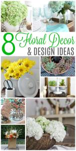8 Floral Decor & Design Ideas {MM #167}