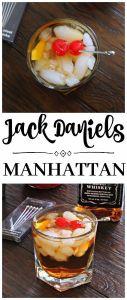 Jack Daniels Manhattan Cocktail {#MovieMondayChallenge}