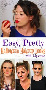 Easy and Pretty Halloween Makeup Ideas