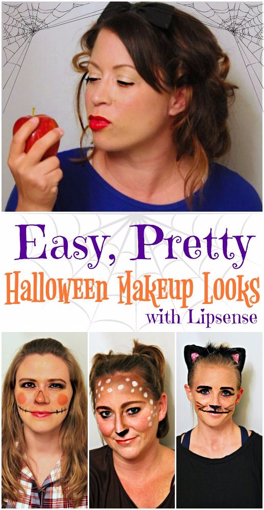 if youu0027re more into glam than gruesome for halloween these easy halloween makeup