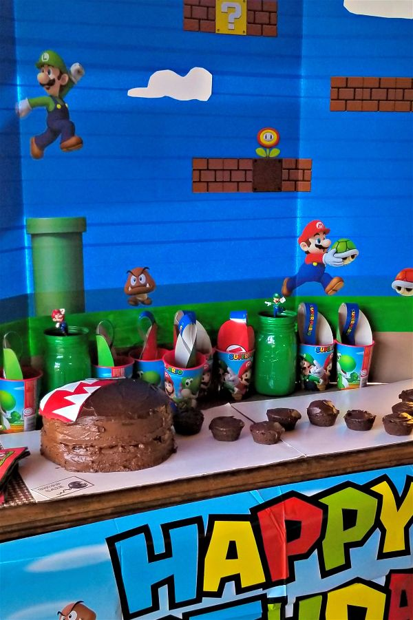 super mario party ideas and free