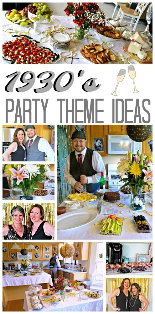1930s Theme Birthday Party Ideas Cmon Get Crafty