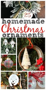 Homemade Christmas Ornaments {MM #183]