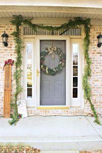 Christmas Porch Decor {and Foyer}
