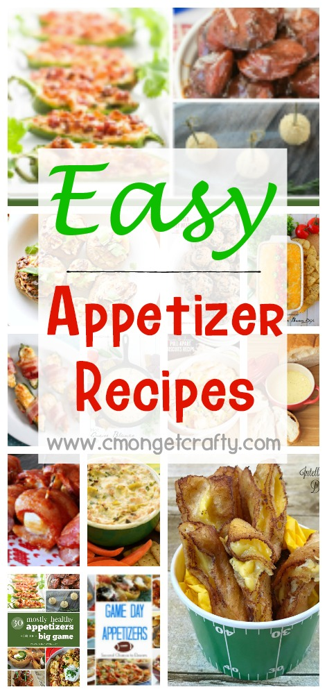 Easy appetizer recipes for any occasion!