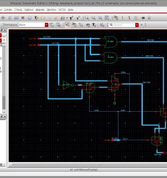 i re designed my 8 bit alu to be the following circuit this is version 2 of the 8 bit alu schematic  [ 1128 x 860 Pixel ]