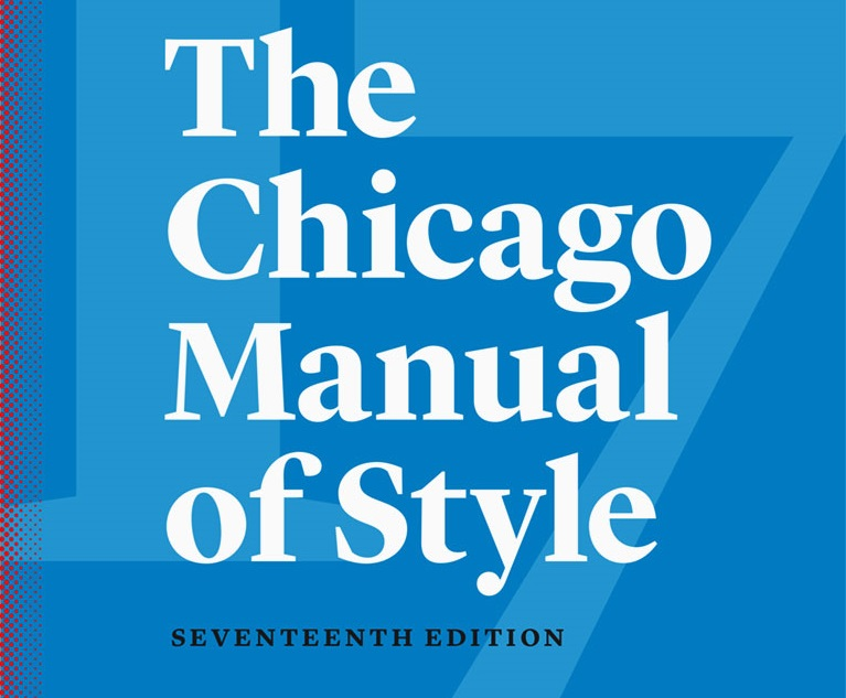 chicago manual of style 16th edition