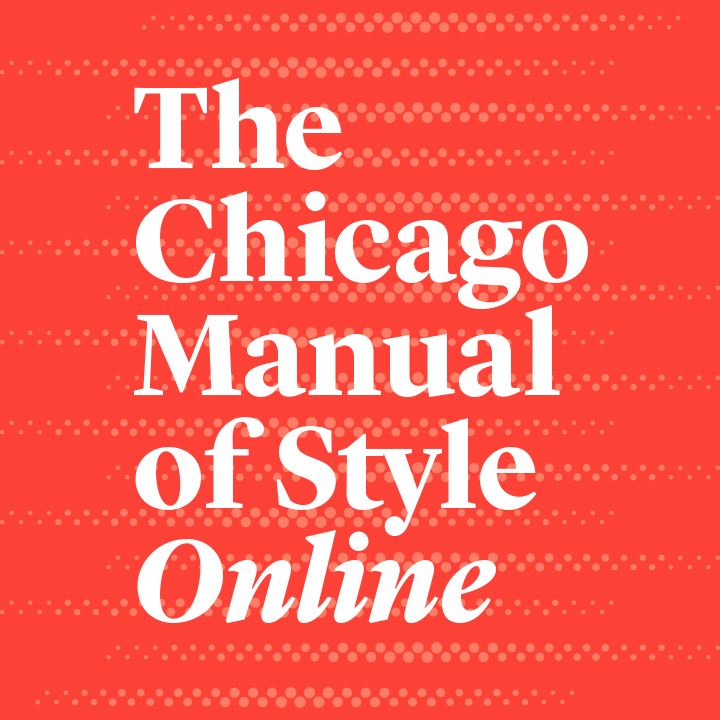 chicago manual of style quotation format