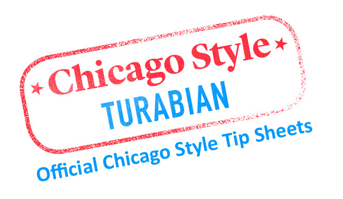 How Do I Format Footnotes In Turabian Chicago Style Cmos