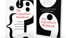 Copyeditor's Handbook and Workbook cover images