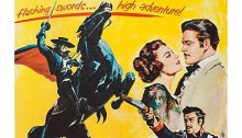 The Sign of Zorro movie poster, detail