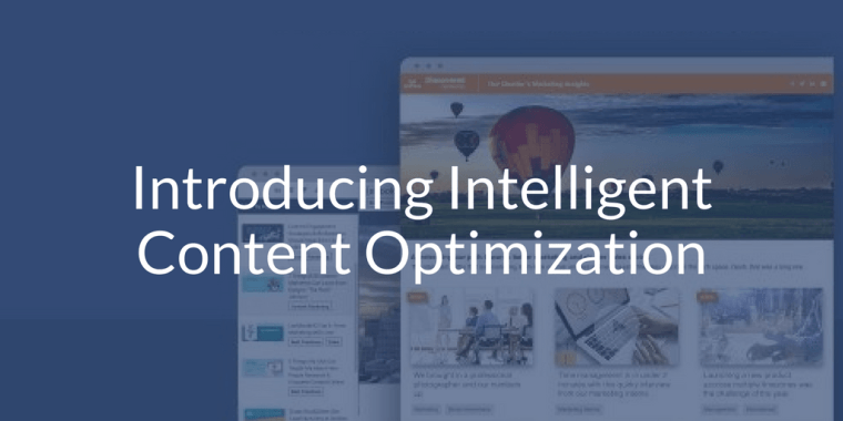 Introducing Intelligent Content Platform