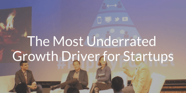The Most Underrated Growth Driver for Startups