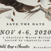 Save the Date, Charlotte Mason Conference 2020